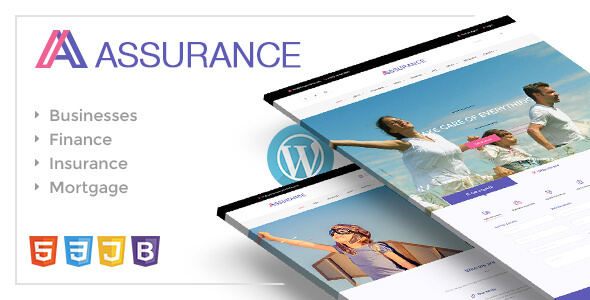 Assurance – Insurance & Finance WordPress Responsive Theme