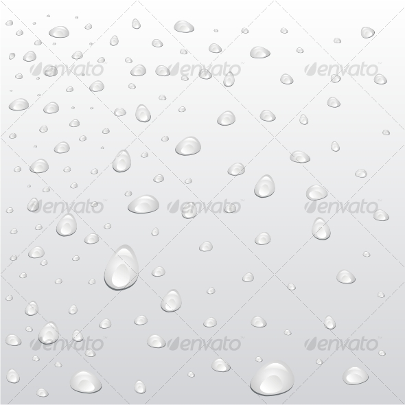 Drops are on a surface - Backgrounds Decorative