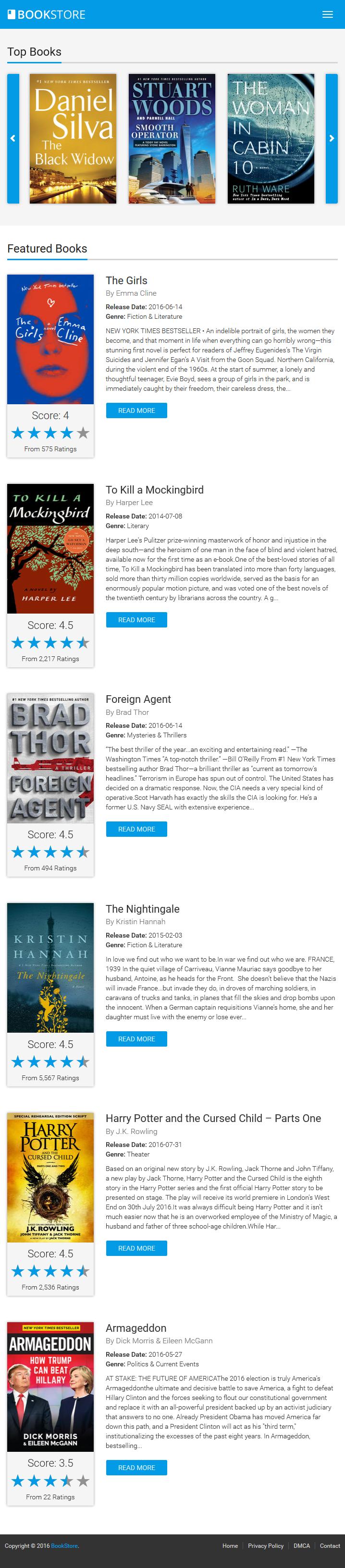 Bookstore books ebooks and audiobooks affiliate script by armorthemes bookstore books ebooks and audiobooks affiliate script fandeluxe Choice Image