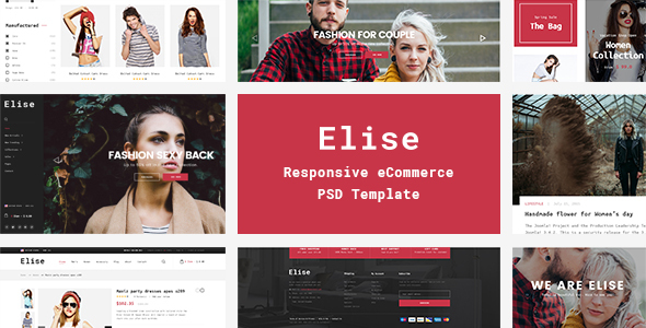 Elise – A Genuinely Multi-Concept Ecommerce Theme