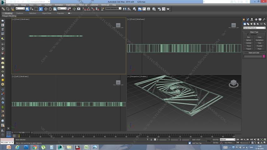 Swirls (3D screen) PD_G20