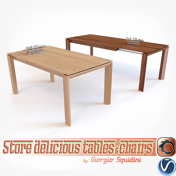 Table OMNIA CALLIGARIS - 3DOcean Item for Sale