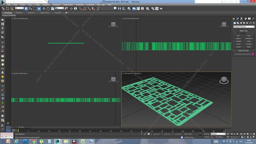 Grid (3D screen) PD_G24
