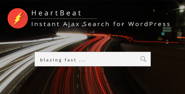 HeartBeat - Instant Ajax Search for WordPress - CodeCanyon Item for Sale
