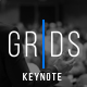 Grids-Minimal Keynote Template - GraphicRiver Item for Sale