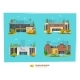 Four School Building - GraphicRiver Item for Sale