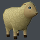 Mini Sheep Low Poly - 3DOcean Item for Sale