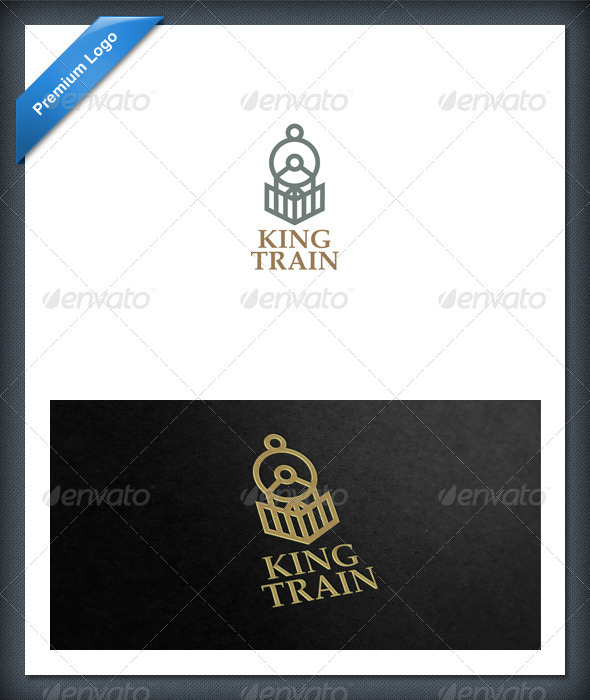 Train and Locomotive Logo Template - Objects Logo Templates