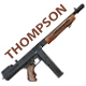 Thompson Gun - 3DOcean Item for Sale