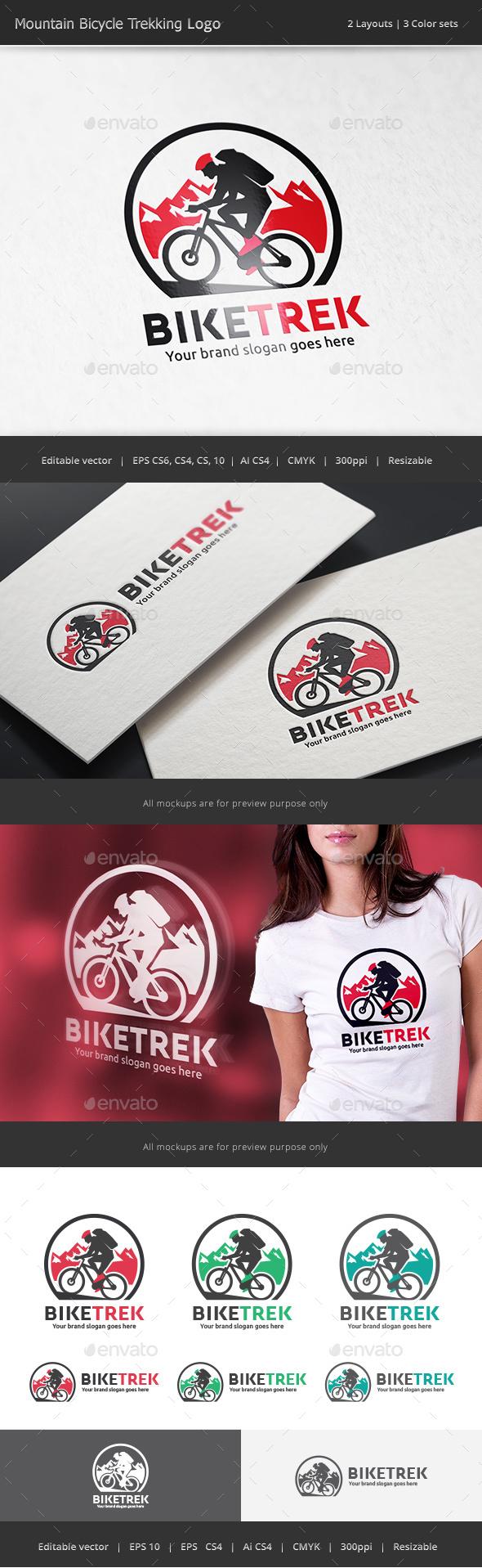 Mountain Bike Trekking Logo