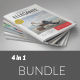 Bundle 4 in 1 | Vol.4 - GraphicRiver Item for Sale