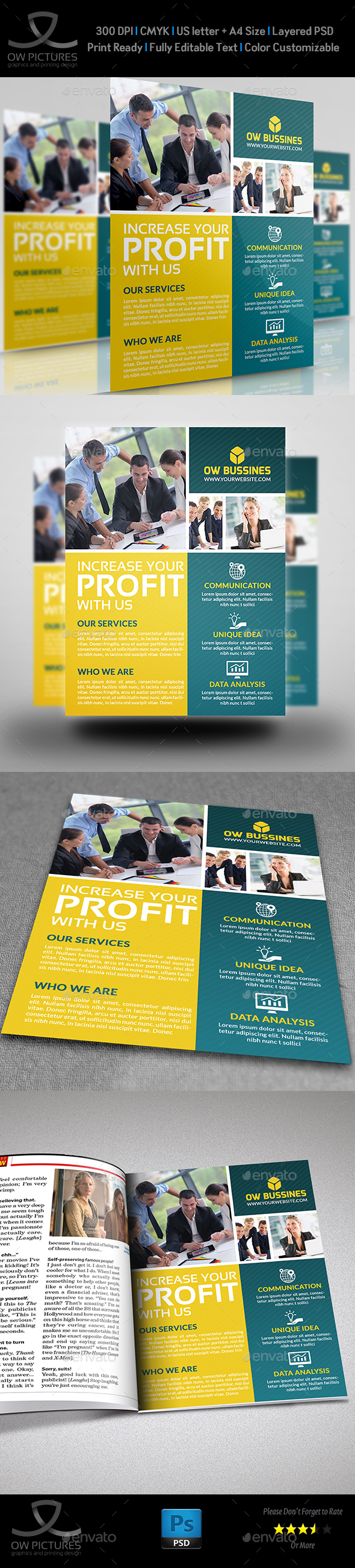 Corporate Business Flyer Vol.14 - Corporate Flyers