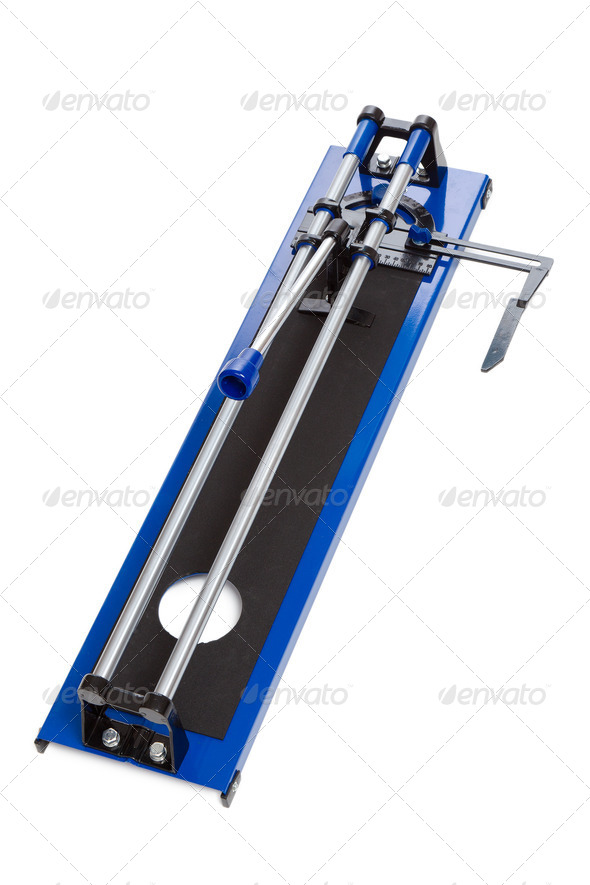 tile cutter - Stock Photo - Images