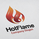 Hot Flame Logo - GraphicRiver Item for Sale