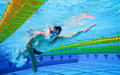 Swimmer in the Pool Underwater - PhotoDune Item for Sale