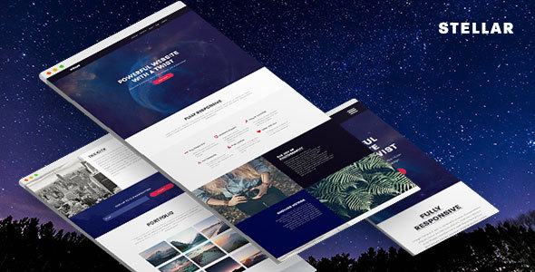 Stellar – Responsive Muse Template for Creatives & Agencies