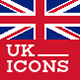 World Landmark Icons - Vol. 6 (United Kingdom) - GraphicRiver Item for Sale