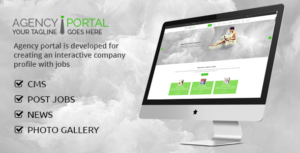 Agency Portal - CodeCanyon Item for Sale
