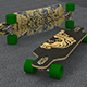longboard - 3DOcean Item for Sale