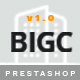 BigC - Elegant eCommerce Multipurpose PrestaShop Theme Nulled