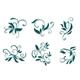 Floral decorations - GraphicRiver Item for Sale