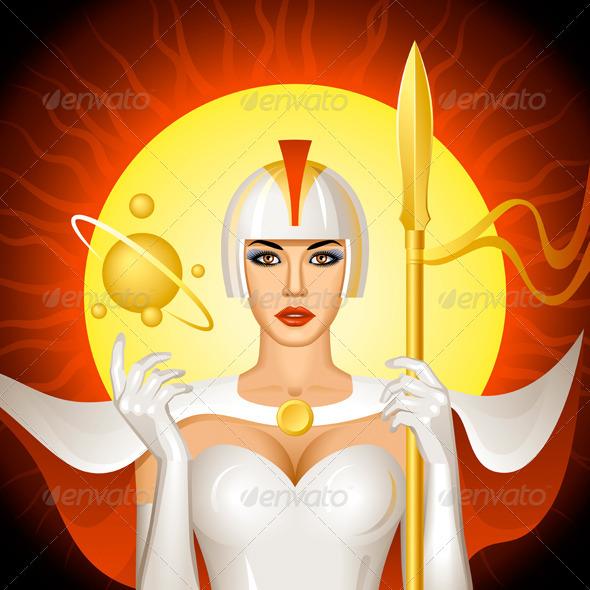Solar Queen - People Characters