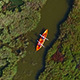 Canoeing Aerial View - VideoHive Item for Sale