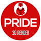 Pride 3D Render - GraphicRiver Item for Sale
