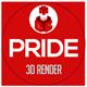 Pride 3D Render