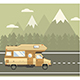 Road Travel Poster - GraphicRiver Item for Sale