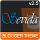 Sevida - Responsive Magazine Blogger Template - ThemeForest Item for Sale