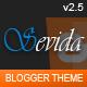 Sevida - Responsive Magazine Blogger Template Nulled
