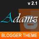 Adamz - Responsive Blogger Template - ThemeForest Item for Sale
