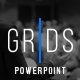 Grids-Minimal Powerpoint Template - GraphicRiver Item for Sale