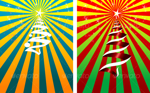 Colorful christmas background - Backgrounds Decorative