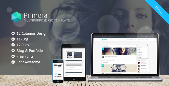 Primera – Business Multipurpose Responsive HTML5 Template