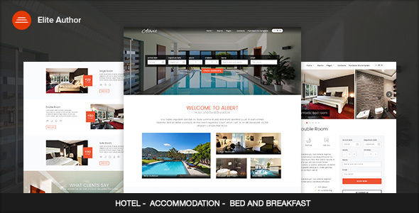 Albert – Hotel and Bed&Breakfast WordPress Theme