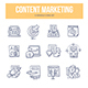 Content Marketing Doodle Icons - GraphicRiver Item for Sale