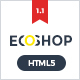 ECOSHOP - Multipurpose eCommerce HTML5 Template - ThemeForest Item for Sale