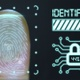 Fingerprint scan with identifying and unlock padlock - VideoHive Item for Sale