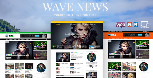 Wave  – Multipurpose WordPress Magazine Theme