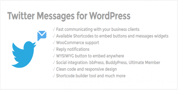 Twitter Messages for WordPress - CodeCanyon Item for Sale