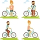 Bike People Set - GraphicRiver Item for Sale
