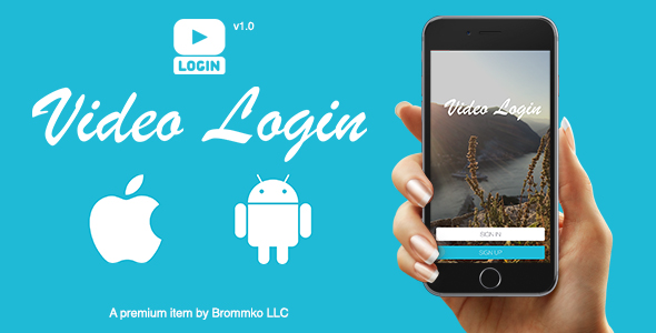 Video Login - App for iOS and Android - CodeCanyon Item for Sale