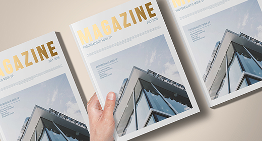Magazine Mock-Ups