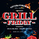 Grill Flyer - GraphicRiver Item for Sale