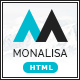 Monalisa - Business HTML Template - ThemeForest Item for Sale