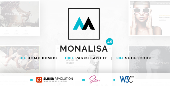 Monalisa – Business HTML Template