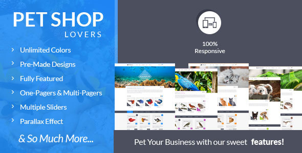 FishTank - Creative Shop HTML Template - Shopping Retail