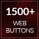 1500+ Flat Design Web Buttons - GraphicRiver Item for Sale
